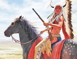 Lacota Warrior in full display
