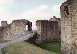 Flint ruin North-Wales