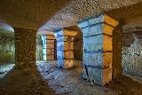 Piliers souterrains (Loul)
