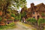 Landscape after A R Quinton ~ Colin Bradley