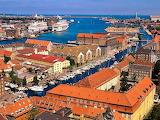 Port of Copenhagen Denmark