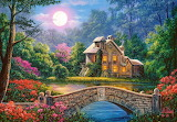 Cottage-in-the-moon-garden