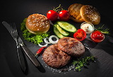 Hamburgers With Vegetables