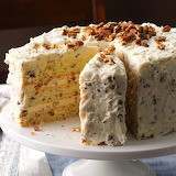^ Butter Pecan Layer Cake