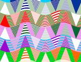 wavy triangles