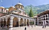 Monastery of Saint Ivan of Rila, Courtyard
