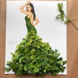 ^ Parsley dress - Edgar Artis