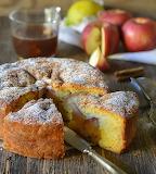 Apple honey cake