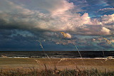 Clouds fall day Holden Beach