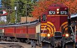 Diesel Locomotive Train #573