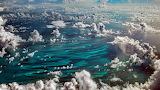 Caribbean Cumulus Clouds