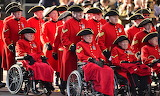 Chelsea Pensioners on Parade