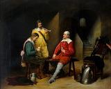 In the Guard Room by Francisco Aznar Y Garcia