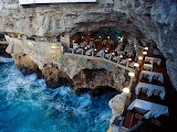Grotta Palazzese Restaurant in Puglia Italy