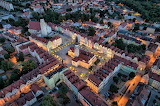 Lower Silesian Voivodeship Poland night lights