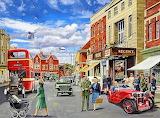 1940s High Street-Trevor Mitchell