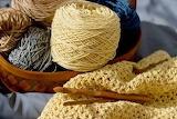 Beige crochet