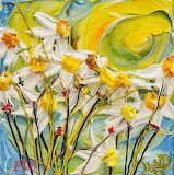 The sun shining white flowers-Justin Gaffrey