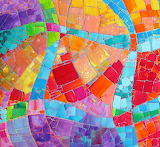 colourful art quilt, Melody Johnson