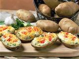 ^ Baked potatoes