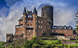 Castle Burg Katz Germany