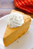 ^ Pumpkin cheesecake