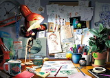 Disney Pixar The Artists Desk