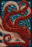 Mosaic octopus
