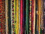 Rotate the Beaded Necklaces