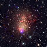 Space, NASA, Starburst, nebula
