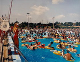 Crowded Swimming Pool Chicago