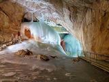 4) Eisriesenwelt ice caves in Werfen, Austria