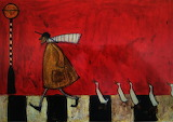 ^ Crossing with Ducks ~ Sam Toft