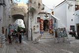 Peschici Piazza Centro Storico Puglia Italy