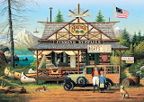 Proud Lil' Angler by Charles Wysocki