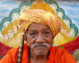 elderly Indian man
