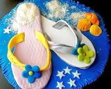 Beach bum's cake @ La Cocina de Sonia de la Cuadra