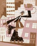 Calef Brown - Rollerblader