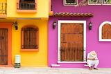 ^ House colors, Puerto Valarta, Mexico