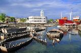 Moroni Mosque and Harbour. Big Comoros