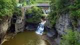 Triphammer Falls Ithaca New York USA