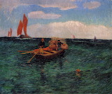 The Breton Sea by Henri Moret