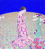 Felice Casorati, La Prière, 1914