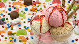 Helado y dulces