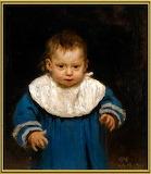 Портрет Наді Рєпіної в дитинстві