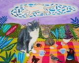 Kitty's Tea Party - Ali Hunter