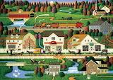 Wysocki - Yankee Wink Hollow Painting