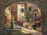Italian Courtyard 2