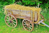 #Little Old World Hay Cart