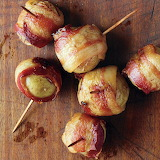 ^ Bacon wrapped potatoes